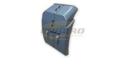 MAN L2000 18T CABIN MUDGUARD REAR L/R