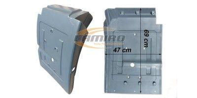 IVECO EU-CA II TECTOR 75 CAB. MUDGUARD REAR RIGHT