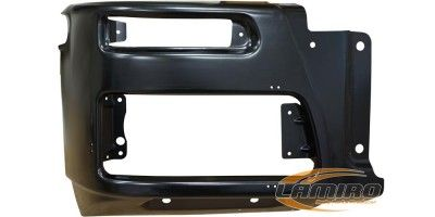 IVECO EU-TREKKER 07- BUMPER RIGHT (STEEL)