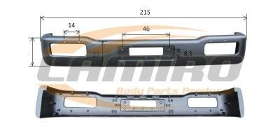 NISSAN ATLEON FRONT BUMPER - WIDE CABIN
