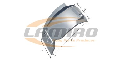 MERC ACTROS MP1/2/3 CAB. MUDGUARD LEFT constructional