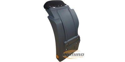 MERC ACTROS MP2 MP3 CAB. MUDGUARD REAR LEFT