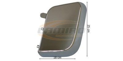 MB ACTROS MP4/ANOTS MIRROR COVER CHROM LH