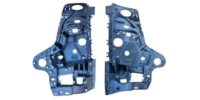 MERC ACTROS MP4 HEADLAMP BRACKET LEFT high