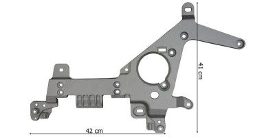 MERC ACTROS MP4 BUMPER BRACKET RIGHT