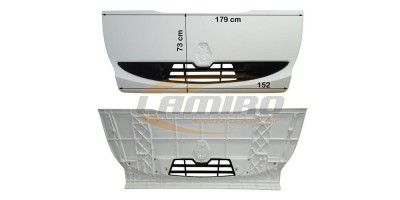 RVI MIDLUM DXI FRONT PANEL WITH GRILL