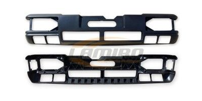 MAN L2000  -'00 FRONT BUMPER (WITH 4 FOG LAMPS HOLES)