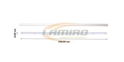 DAF XF95 02-/105 06- TOP PANEL BAR CENTER/UPPER