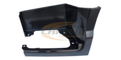 VOLVO FH4 13- LOW FOOTSTEP COVER LEFT BLACK SHINE