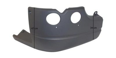 SCANIA 5 R FRONT BUMPER RIGHT