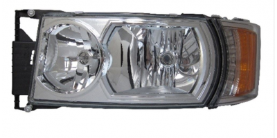 SCANIA 6 2010- HEADLAMP H7 WITH INDICATOR LAMP LH