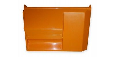 RVI TX REAR MUDGUARD LEFT (ORANGE)