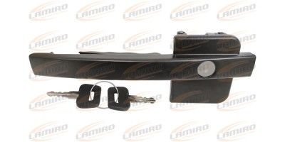 DAF XF OUTSIDE HANDLE WITH LOCK CYLINDER RIGHT