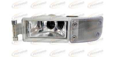 MAN TGA,TGL FRONT BLINKER LAMP WHITE WITH FOG LAMP LH