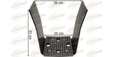 IVECO TRAKKER 04- LOWER ADDITIONAL STEP R/L SET.