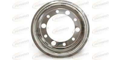 WHEEL CAP 22,5 STAINLESS FRONT