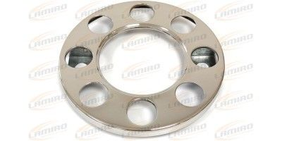 Wheel cover, 8 holes, stainless steel 19,5 inch