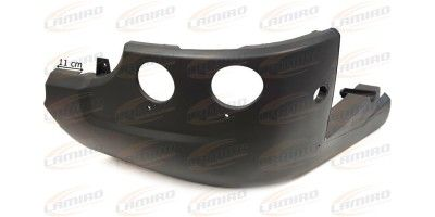 SCANIA 6 2010- FRONT BUMPER LEFT (wide spacing)