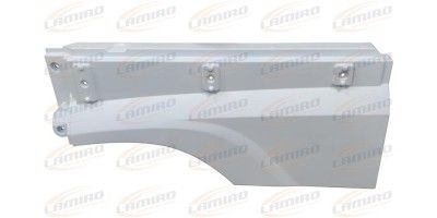 DAF 106XF 2013- MUDGUARD EXTENSION LEFT INT.WHITE