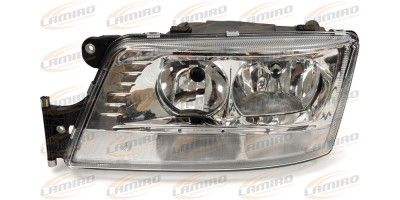 MAN TGX HEADLAMP ELECTRIC WITH DAY LAMP LH